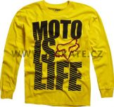 Triko Fox Moto Is Life Tee