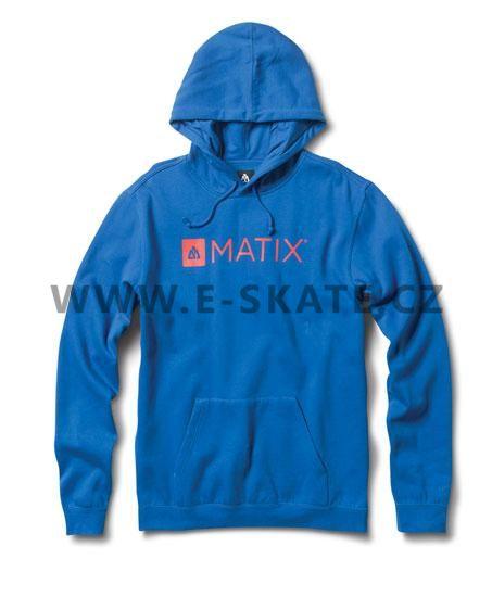Mikina pánská Matix Monolin Hood Royal  52d75f122d