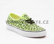 79d767df00e Boty Vans AUTHENTIC - Neon Leopard Yellow Black SP13