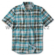 Košile Vans Rusden Plaid - Aquamarine Plaid SP13
