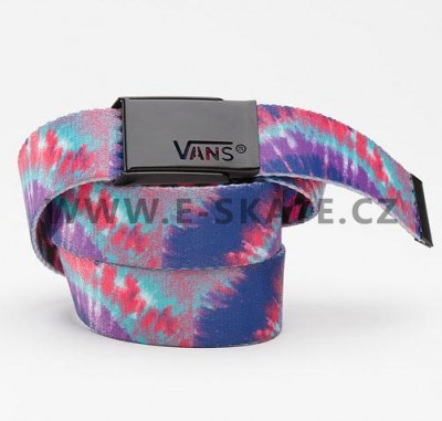 Pásek Vans Witty Web Belt Tie Dye - Pink Purple SP13