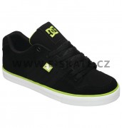 Boty DC Course Slim - BLACK SOFT LIME SP13