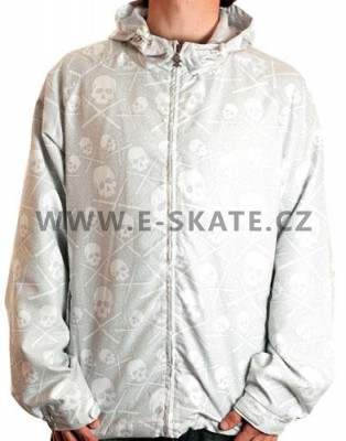 Bunda C1RCA Skull Windbreaker - White